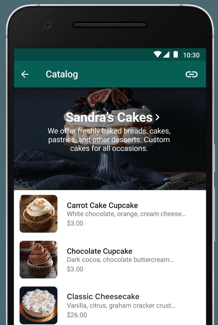 Katalog pada Whatsapp Bisnis